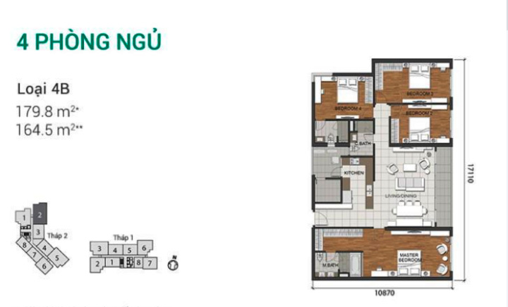 VINestate: The Estella Heights Apartments -Floor plan (Vietnam)