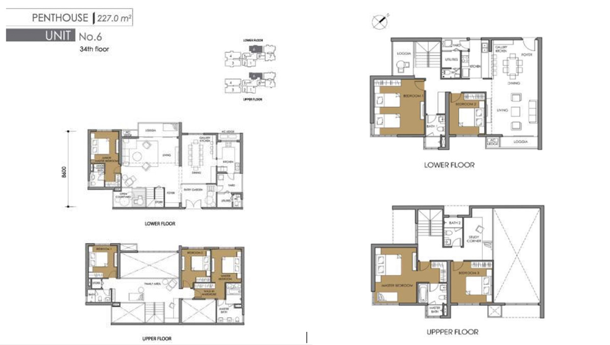 VINestate Vietnam Vist Verde Floor plan apartments