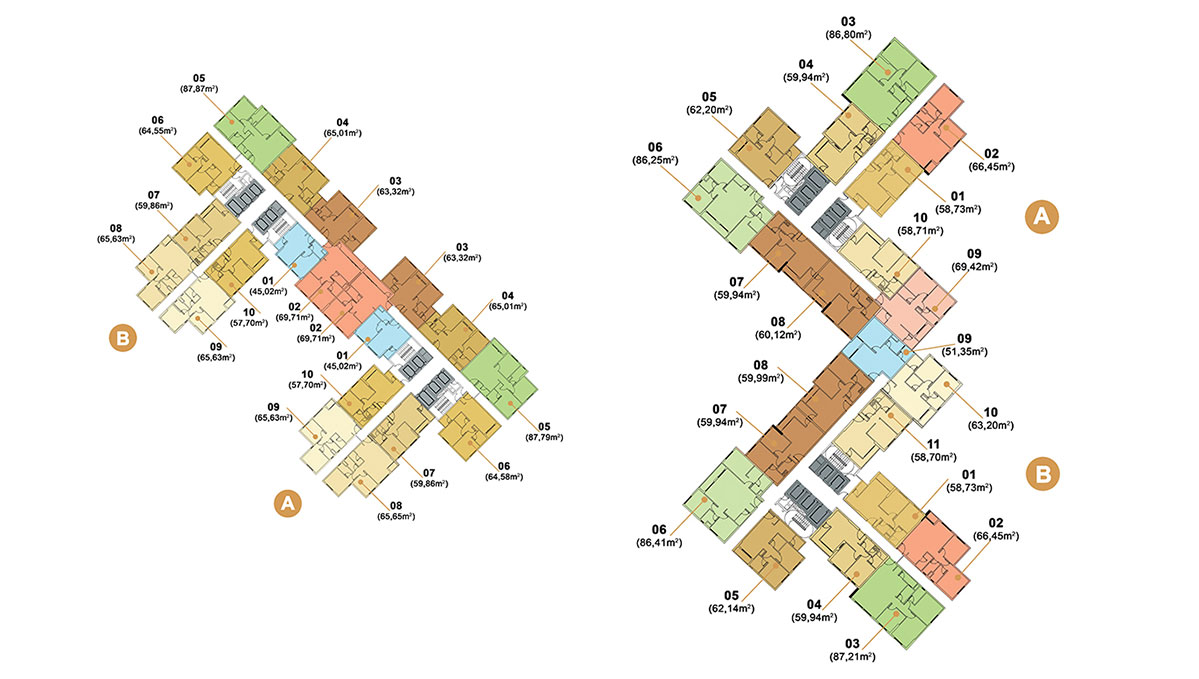 Masteri Thảo Điền Apartment Plans